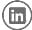 social media-linkedin icon-black